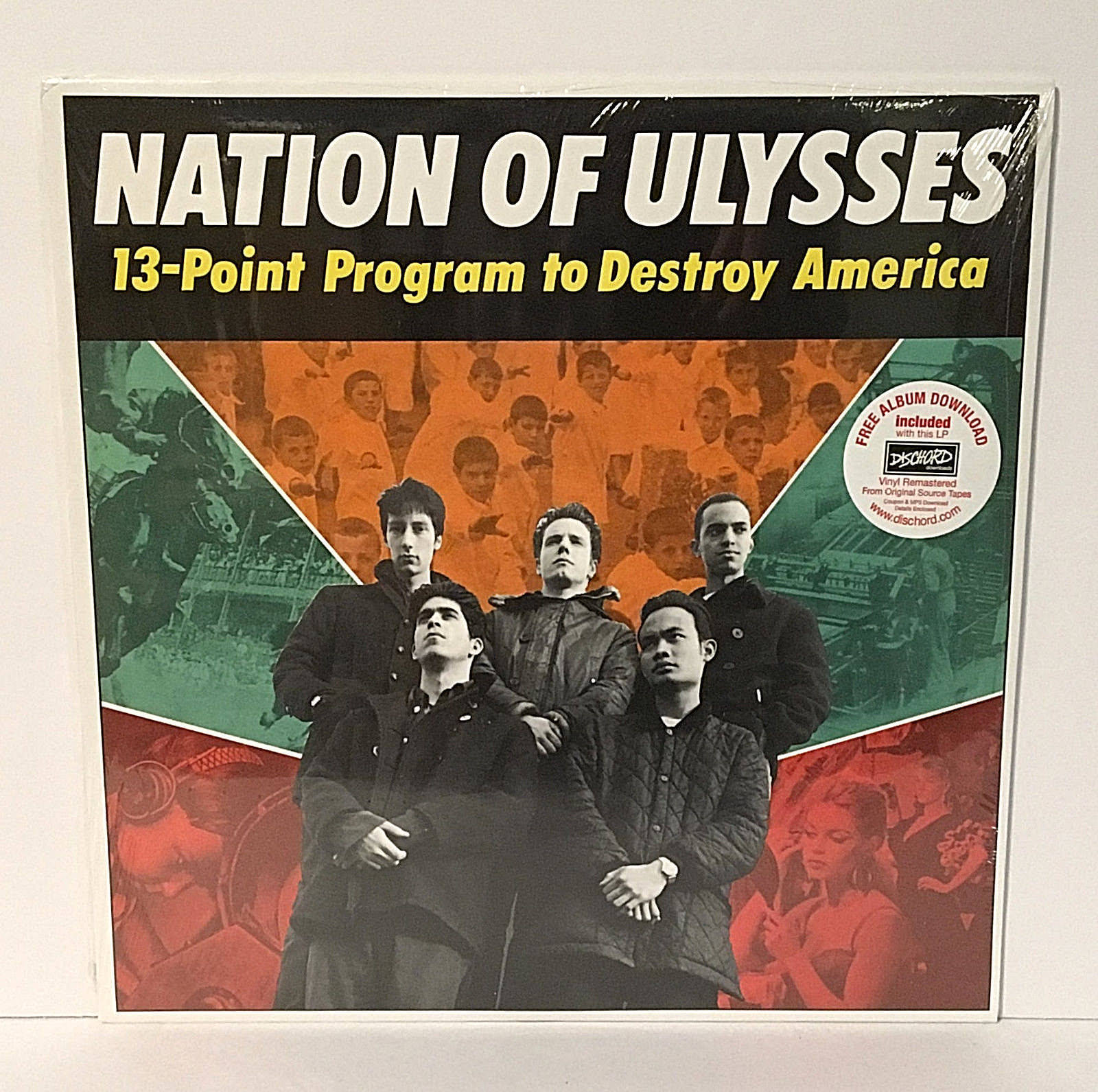 Primary image for NATION OF ULYSSES 13-point program to destroy america Lp SEALED Record , fugazi