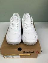 Reebok Women's Work N Cushion 3.0 Walking Shoe Size 9.5M White/Steel BS9525 - $44.55