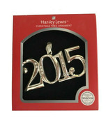 Harvey Lewis Annual 2015 Christmas Ornament with 11 Crystals from Swarov... - $22.65