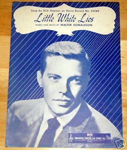 Primary image for Little White Lies by Walter Donaldson 1930 Sheet Music