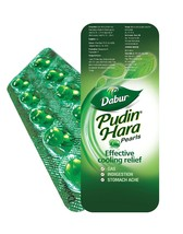 50 Tablet Dabur Pudin Hara Herbal pudinhara Indigestion - $15.00
