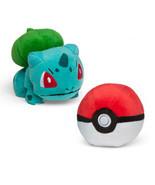 Pokemon Bulbasaur and Poke Ball Plush Gamestop Tomy Boxed Set! - $19.34
