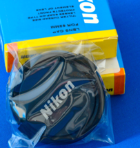 New! - 2PK of Genuine Nikon 62mm Snap-On Lens Cap, Fits any 62mm lens Th... - $4.29