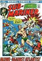 "Sub-Mariner #56 ""Atlantis, Mon Amour!"" [Comic] ... - $3.00"