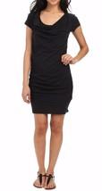 Bench Mujer Casual Pequeño Negro Twistout Camiseta Vestido de Playa BLSA1606 Nwt image 2