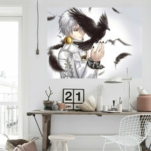 3D Tokyo Ghoul Bird D161 Japan Anime Wall Stickers Wall Mural Decals Wendy - $19.22+