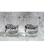 2 New Wild Turkey American Honey Shot Glasses 1 oz - $18.76