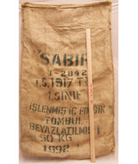 Burlap Bag Gunny Sack Hazelnut Kernels Trabzon Turkey 50 KG Gross - $25.73