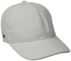 Lacoste Men's Classic Baseball Premium Cotton Pique Croc Logo Hat Cap RK0123-51 image 2