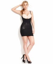 Star Power SPANX Firm Control Lady Luxe Open-Bust Full Slip 2358, Black, S - $29.69