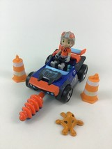 """Rusty Rivets Car Toy Drill Cones Building with 3"""" Figure Accessories Spin Master - $15.10"""