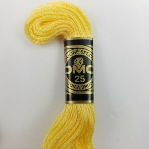 Embroidery Floss DMC 25 100% Cotton France
