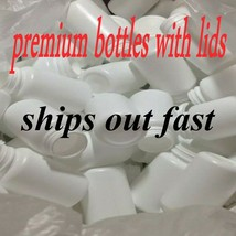 (20 Ct.) 120cc Round White Packers Wide Mouth 38/400 PP Liner Lids, HDPE... - $7.99