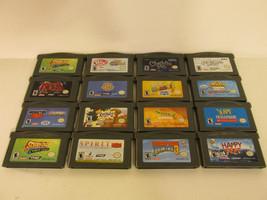Nintendo Game Boy Advance Game Lot Bundle GBA Gameboy Donkey Kong Etc - $39.15