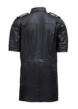 Mens Noctis Lucis Caelum Final Fantasy XV Black Faux Leather Jacket image 3