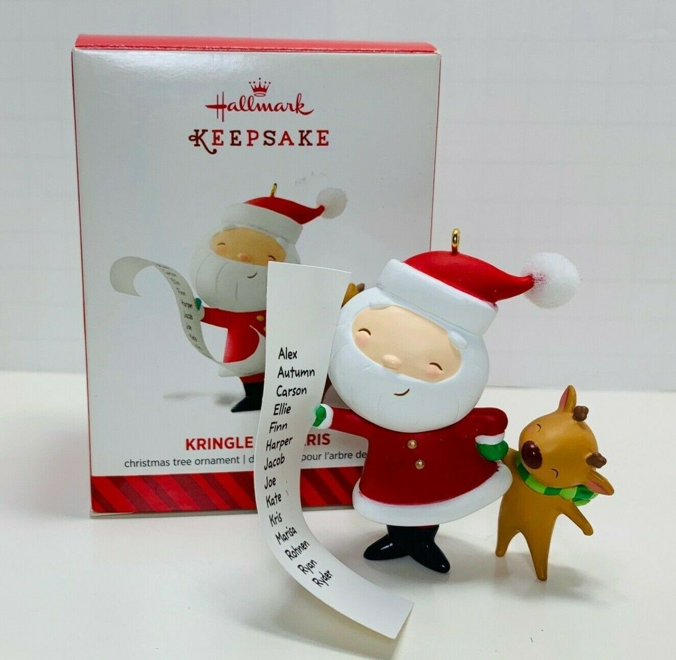 Primary image for Hallmark Keepsake Ornament Kringle And Kris 2014