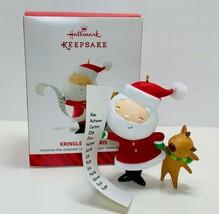 Hallmark Keepsake Ornament Kringle And Kris 2014 - $10.39