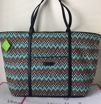 NWT Vera Bradley Trimmed Vera Traveler Travel Bag In Sierra Stream - $47.99
