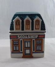 1997 Collectible Coca Cola Ceramic Canister Collection - Soda Shop - $14.24