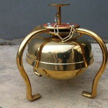Stand Sweet Chimes Toned horse carriage brass bell - $168.30
