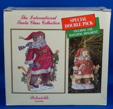 International Santa Claus Belsnickle CANADA Figurine & Ornament NEW in B... - $14.99