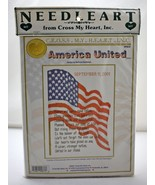 America United September 11 2001 Counted Cross Stitch Kit by Cross My He... - $28.45