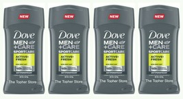 Dove Men + Care Antiperspirant Protection ACTIVE FRESH Deodorant 2.7oz P... - $35.43