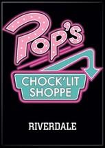 Riverdale TV Series Pop's Chock'lit Shoppe Black Logo Refrigerator Magne... - $3.99