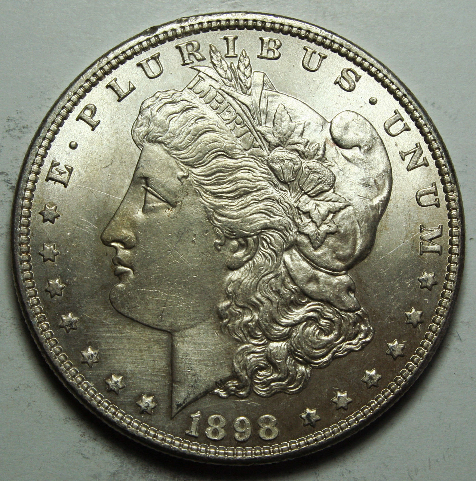 1898 MORGAN SILVER DOLLAR COIN Lot# D 61