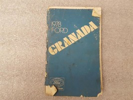 1978 FORD GRANADA *STAINS, COVER LOOSE* Owners Manual 15898 - $13.81