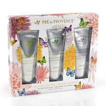 Pre de Provence Butterfly Gift Set Tubes Verbena, Natural and Lavender 3... - $34.97