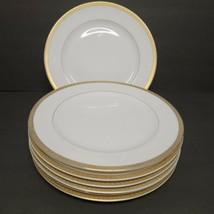 "Lot of 7 VTG Regency GOLD PATTERN 10.25"" Dinner Plates Fine China Japan - $37.10"