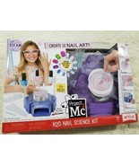 Girls Nail Art Kit Science Toy Fashion Marble Printed Designs Salon Fing... - $34.53