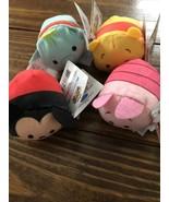 Disney Tsum Tsum   Set Of 4 Mickey,Piglet,Pooh,Dumbo 2 1/2 inch   NWT - $13.85