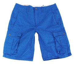 BRAND NEW LEVI'S MEN'S COTTON CARGO SHORTS ORIGINAL RELAXED FIT BLUE 124630030
