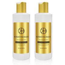 Keratin For Hair Sulfate Free Smoothing Daily Shampoo and Conditioner 8 ... - $26.99