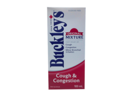 4 PACK Buckley's Original Mixture Cough & Congestion Syrup Size 100ml EACH - $58.46