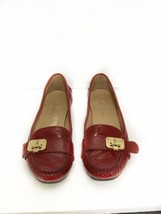 Cole Haan NikeAir Womens Red Slip On Loafer Shoes Size 7 - $39.59