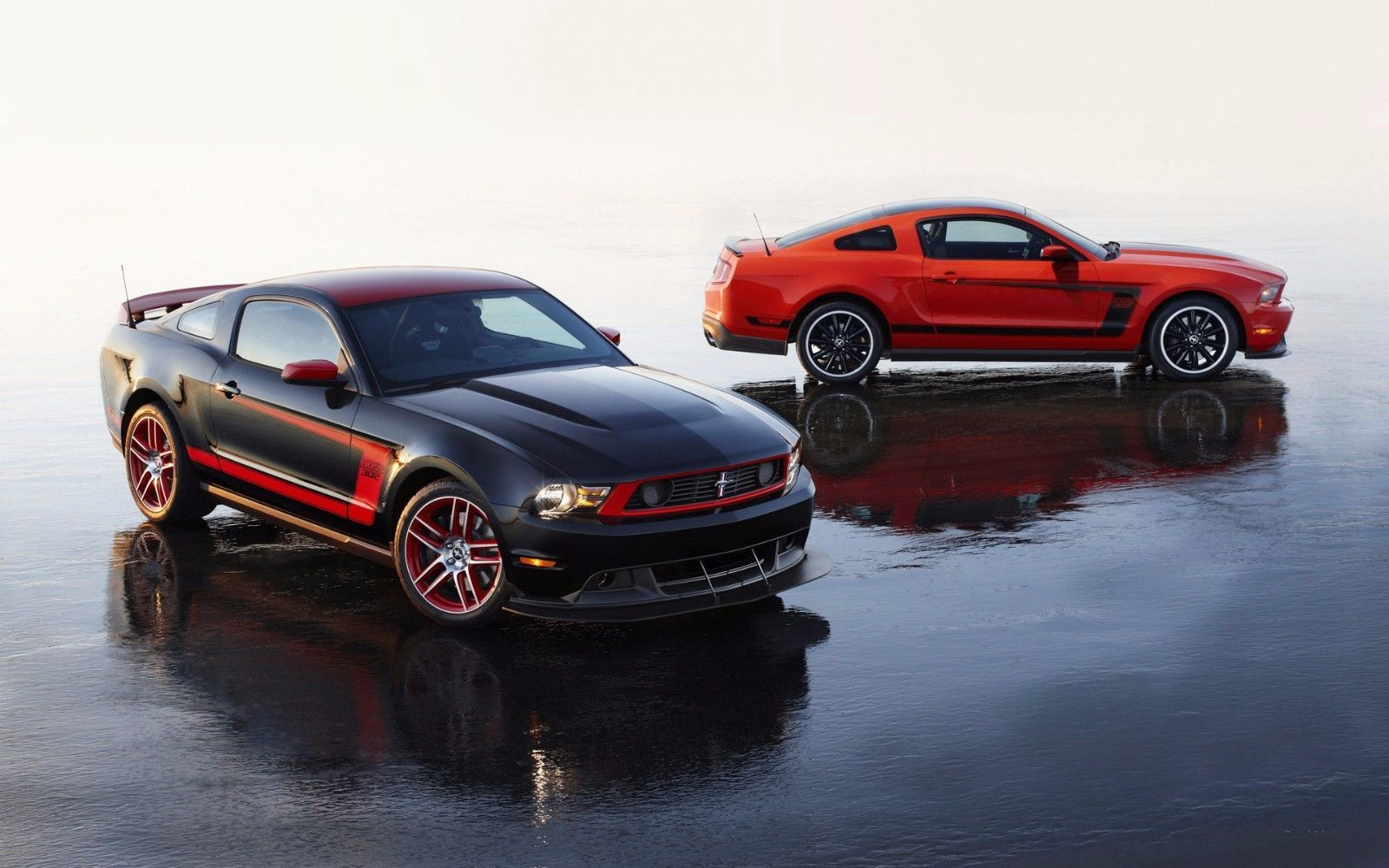 Primary image for 2013 Mustang Boss 302 Laguna Seca 24X36 inch poster, sports car, muscle car