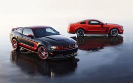 2013 Mustang Boss 302 Laguna Seca 24X36 inch poster, sports car, muscle car - $18.99