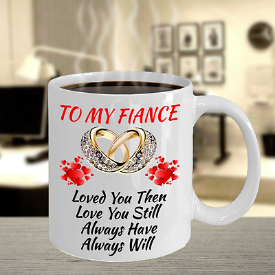 Gifts For Fiance Bride To Be Bridal Shower Wedding Engagement Color Changing Mug