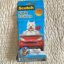 SCOTCH Fur Fighter Refill 8 Sheets Car Interior Pet Hair Fur Remover Dam... - $34.60