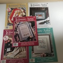 Leisure Arts Magazine Lot of 5 Issues - $10.38