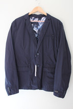 NWT DIESEL Designer Men's J-Marcus Jacket Handsome Midnight Blue XL $328 - $178.00