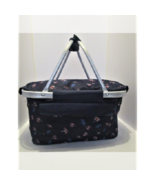 Collapsible Insulated Basket Casserole Carryall and Tote/Storage/Shoppin... - $15.99