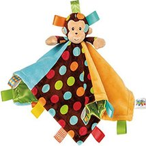 Mary Meyer Taggies Dazzle Dots Character Blanket, Monkey - $19.99
