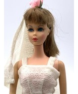 Vintage 1966 Mattel Twist n Turn Barbie-BrunetteJapan Doll Eye Lashes - $97.02