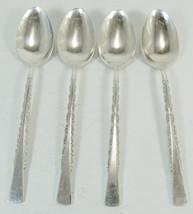 Set Of 4 Tea Spoons Camille International Deepsilver Silverplate  -L3 - $14.99