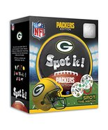 MasterPieces NFL Spot It! Green Bay Packers Edition - $14.53