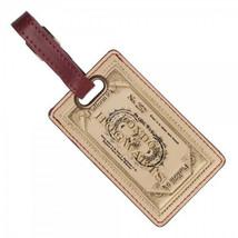 Harry Potter Hogwarts Express 9 3/4 Boarding Ticket Vinyl Luggage Tag UN... - $10.65